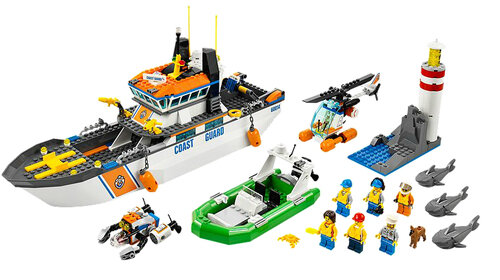 Lego Coast Guard Patrol #2