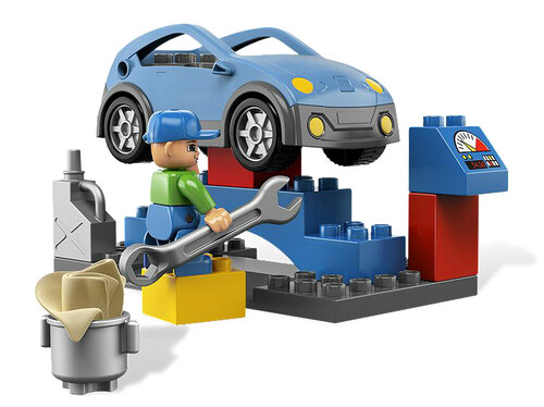 Lego CAR WASH #3
