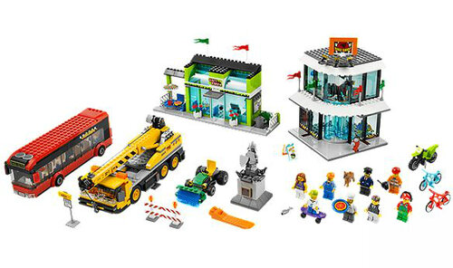 Lego Town Square #4