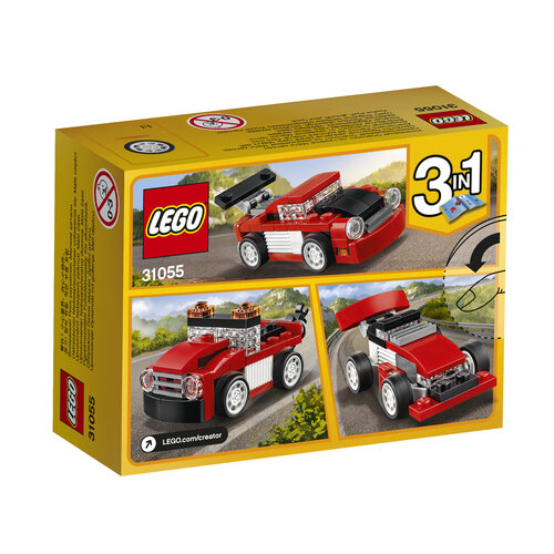 Lego Red Racer #2