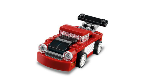 Lego Red Racer #4