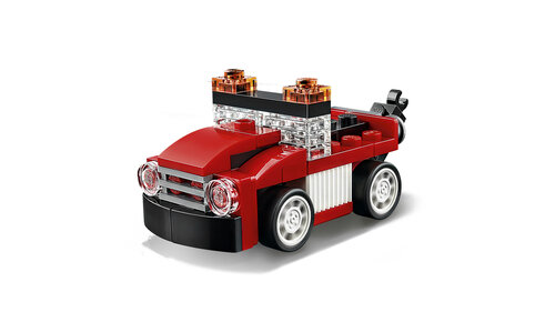 Lego Red Racer #6
