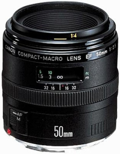 Canon EF 50mm f/2.5 Compact Macro - 1