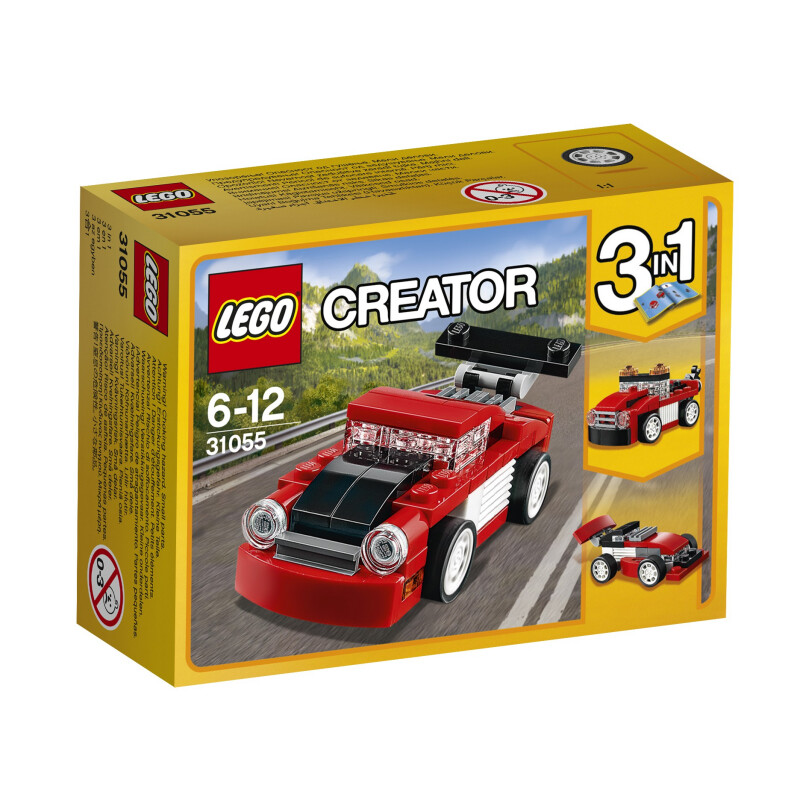 Lego Red Racer #1